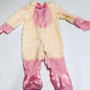 Rubies Lucky Lil' Lamb Toddler Costume Size 12-18m